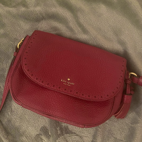 Raspberry Kate Spade Crossbody Bag Penelope
